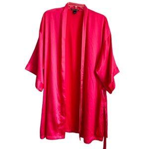 Victoria's secret satin short kimono lingerie robe